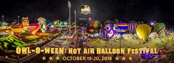 Owl-O-Ween Hot Air Balloon Festival Kennesaw Ga.