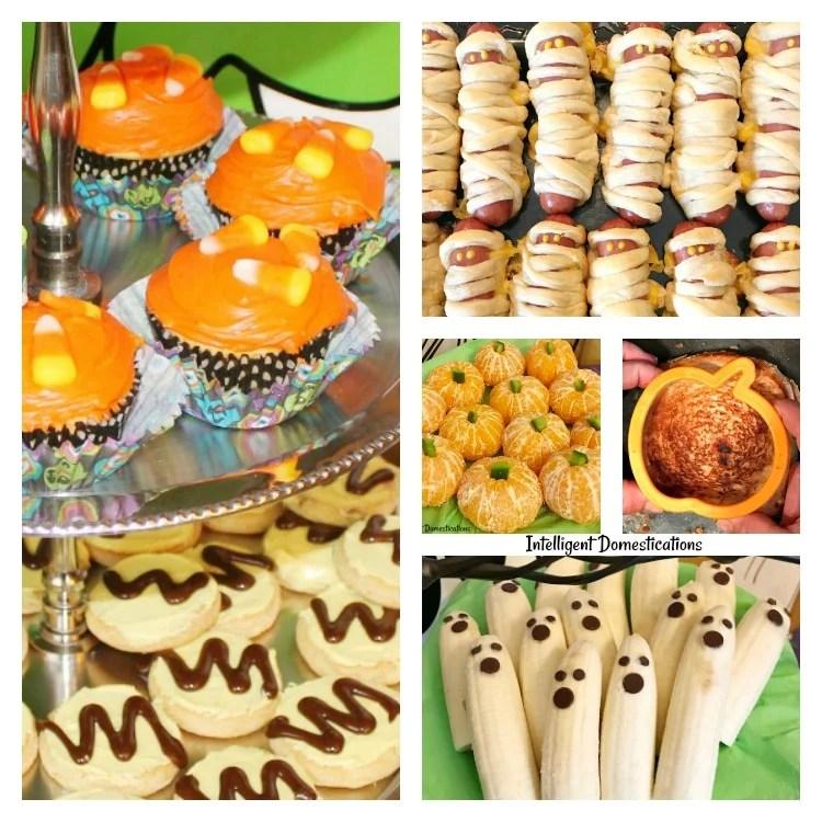 Seven Super Easy Halloween Party Food Ideas. Easy Halloween Party Food Ideas. Halloween party food. Halloween.