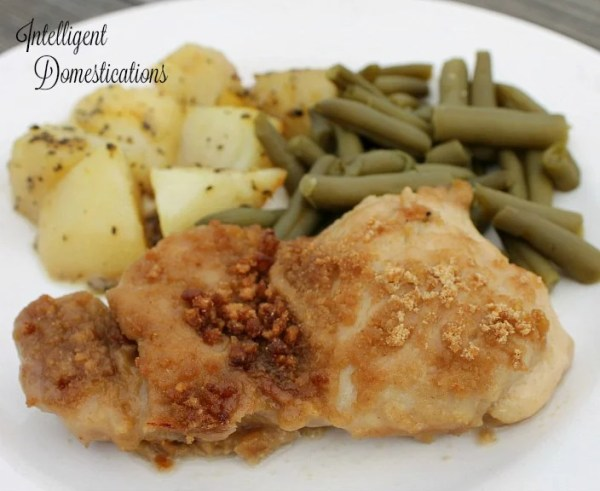 Cheerios Crusted Baked Chicken Thighs. Baked chicken thighs crusted with Cheerios cereal.
