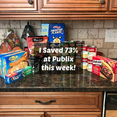 How I Saved Big At Publix This Week