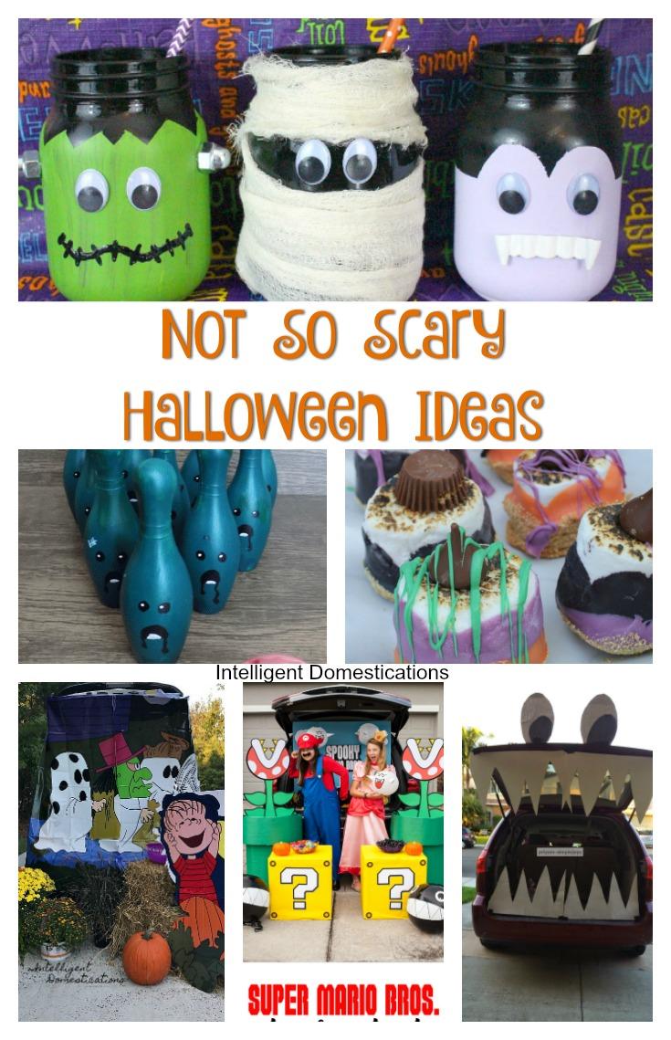 Adorable Not So Scary Halloween Ideas