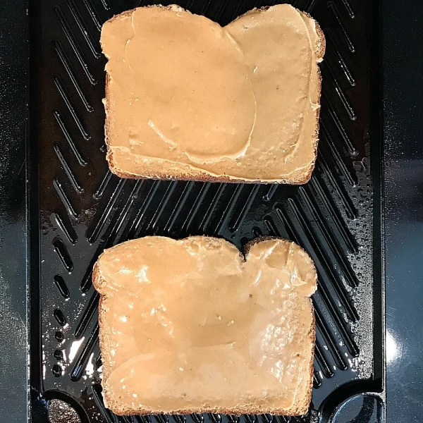 Grilled Peanut Butter and Jelly Sandwich. How to grill a peanut butter and jelly sandwich