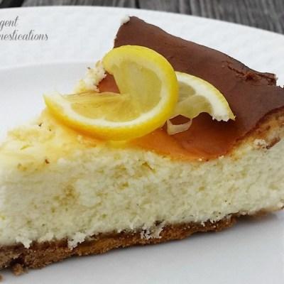 Homemade Lemon Cheesecake recipe. Easy Lemon Cheesecake Recipe. Lemon Cheesecake