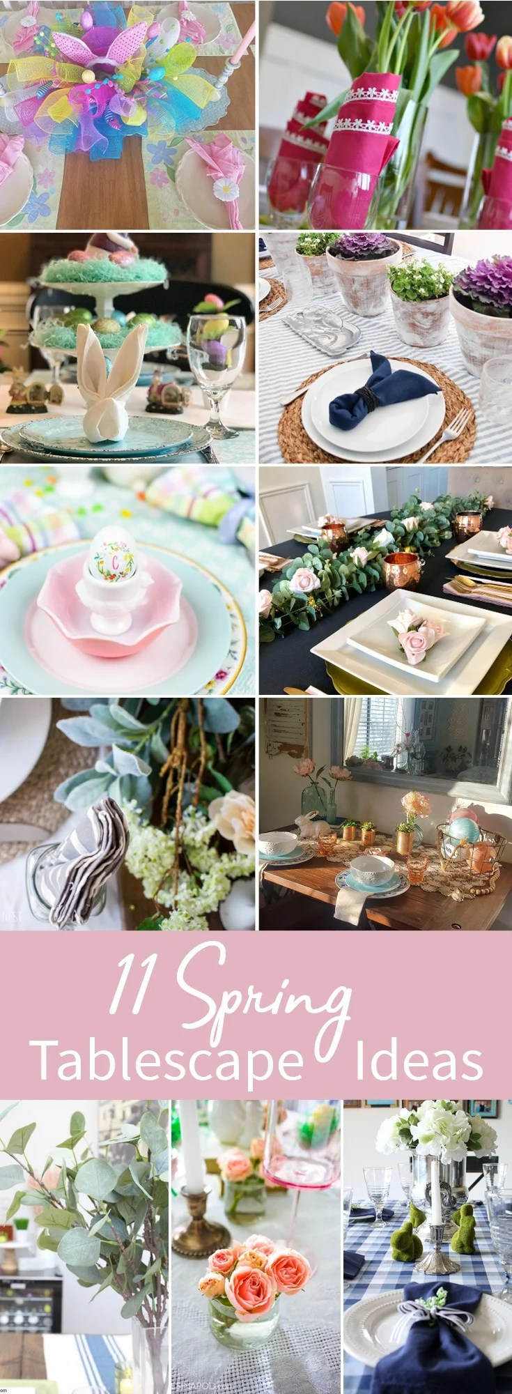 Simple Easter Table Decor | Intelligent Domestications