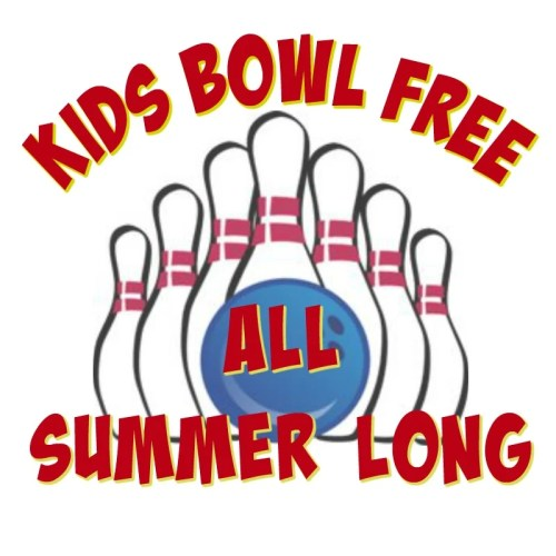 Kids Bowl Free All Summer Long. Info about Kids Bowl Free program #kidsbowlfree
