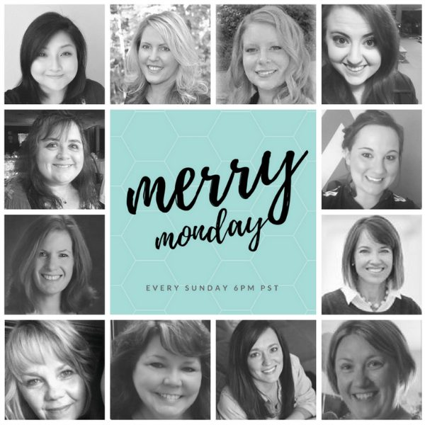 Merry Monday Link Up Party Hosts March 2018