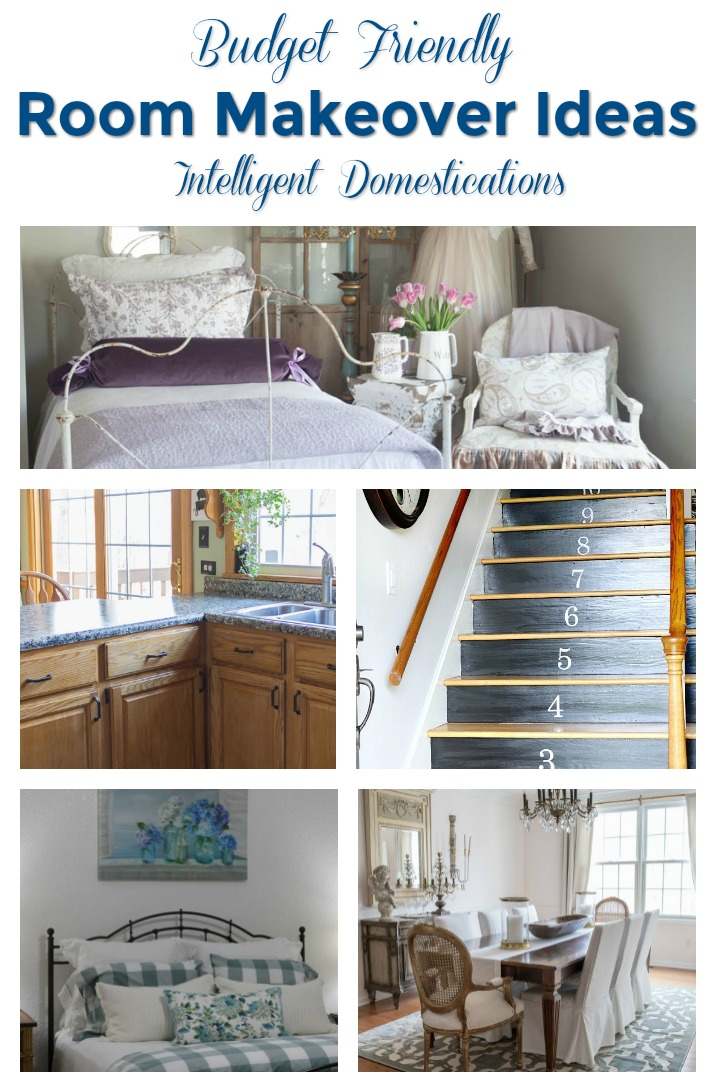 Merry Monday Linky Party Features. 5 Budget Friendly Room Makeover Ideas