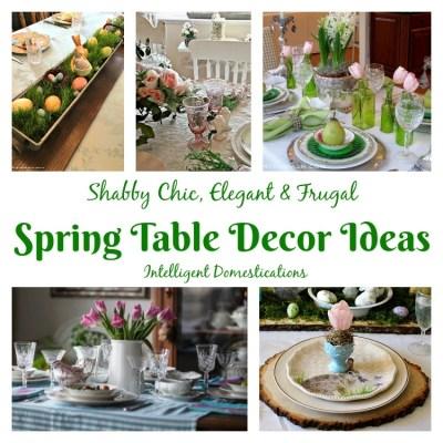 Spring Table Decor Ideas (Merry Monday 195)