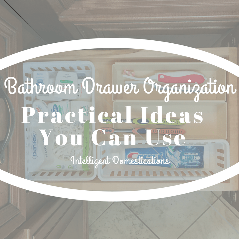 Charmant Bathroom Drawer Organization Practical Ideas
