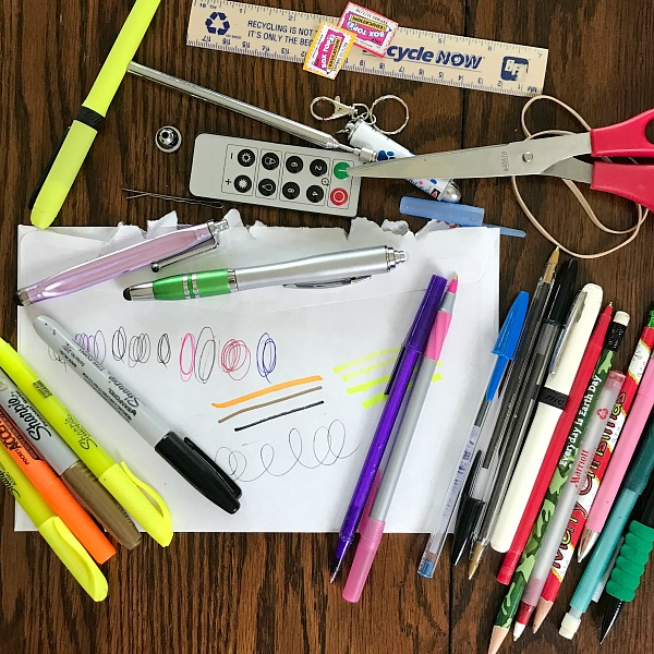 How to create a well organized junk drawer for free. How I repurposed regular household boxes to create an organized drawer. #homeorganization #repurpose