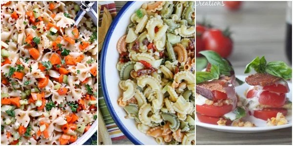 Merry Monday Link Up Party Features. Summer Salad Ideas. Salad recipes.