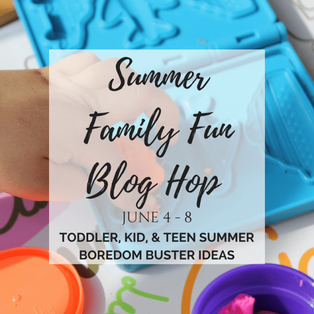 Summer Activity Ideas for kids of all ages. Summer Family Fun Blog Hop.