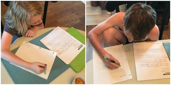 Grandma Camp. Cursive Writing practice. Grandma Summer Camp Ideas for Summer Fun. Grandma Camp activities, crafts and day trips. #grandmacamp #cousincamp #grandmasummercamp