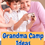 Grandma Camp Ideas I use with my own grandchildren during school break in the summer. Places to go for free and things to do including crafts and other #grandmacamp #intellid #kidsactivities.