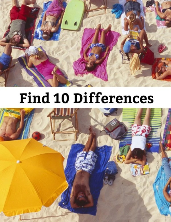 Find 10 Differences between the two images. Find the differences brain teaser. #findthedifferences #brainteaser