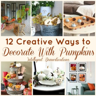 12 Ways To Decorate With Pumpkins (Merry Monday 221)