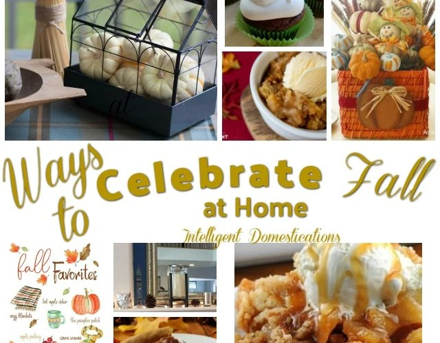 Ways To Celebrate Fall (Merry Monday 223)