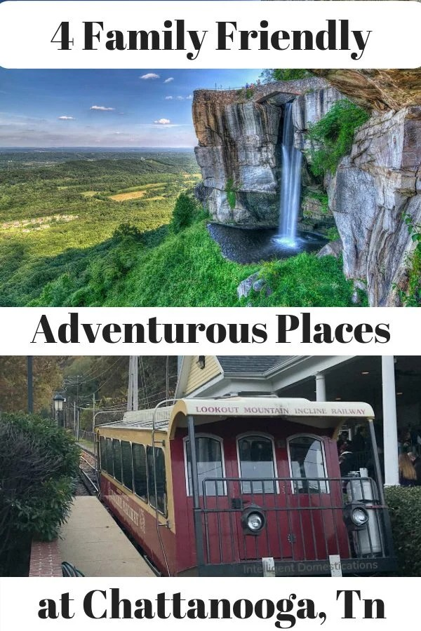 Adventurous Things To See and Do in Chattanooga Tn. for the weekend. 4 Things to See and Do in Chattanooga, Tn. for couples or Families. A weekend trip to Chattanooga will be adventurous packed when visiting Ruby Falls, Rock City, the Incline and The Chattanooga Zoo. #rubyfalls #seerockcity #chattanooga