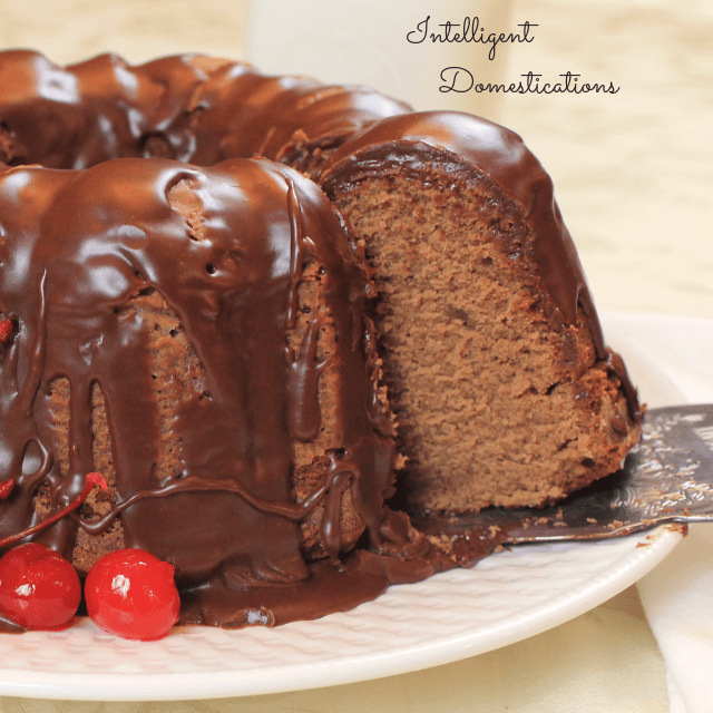 Chocolate Pound Cake Recipe Intelligent Domestications