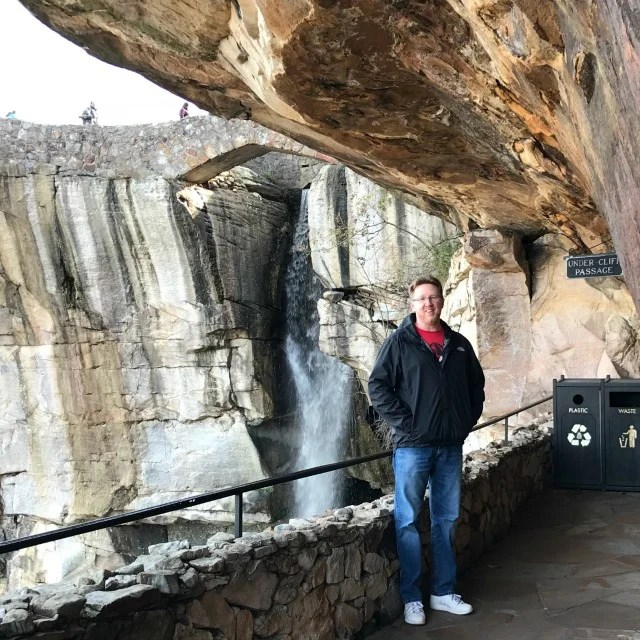 See Rock City Waterfall at Lovers Leap