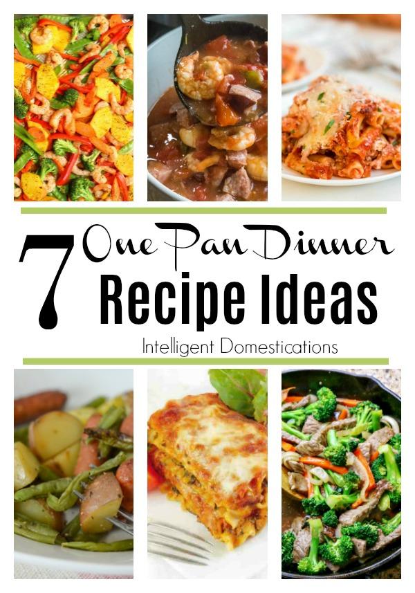 One Pan Dinner Recipe Ideras