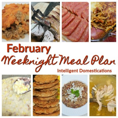 February Meal Plan