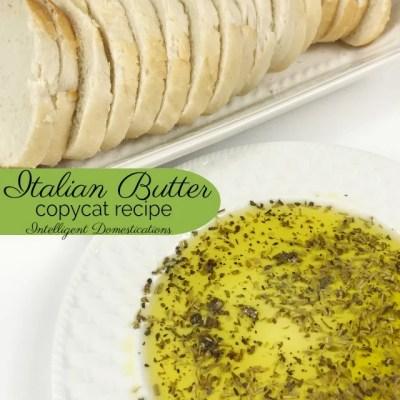 Easy Italian Butter Recipe