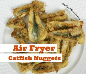 Air Fryer Southern Fried Catfish Nuggets
