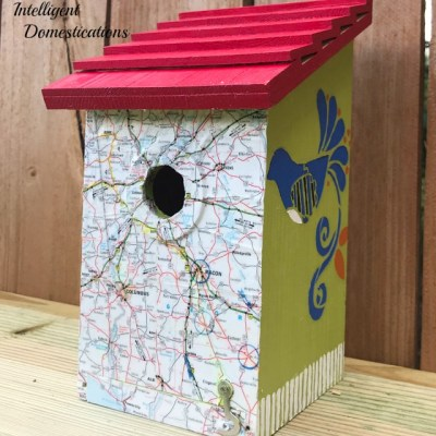 How To Decorate A Birdhouse with Paint