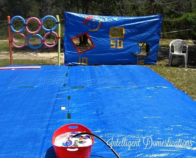 Water Tarp Game