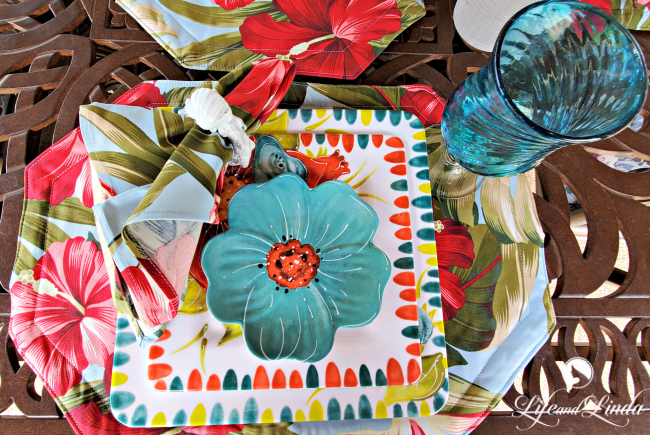Tropical Dining in Our Oasis