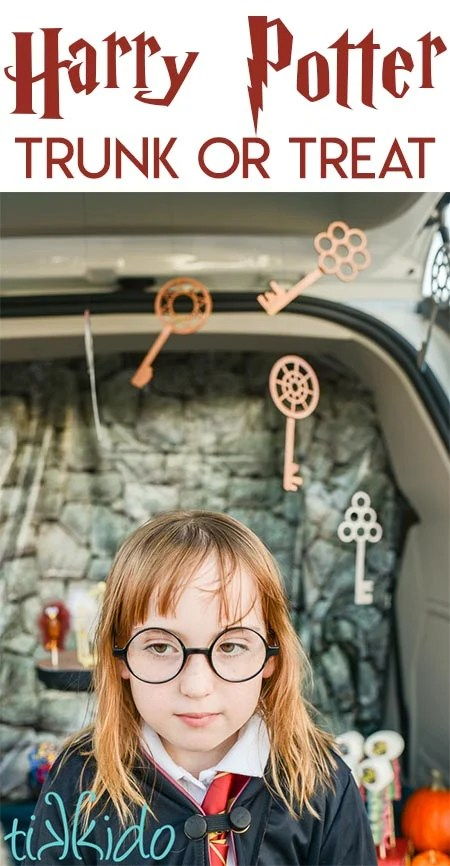 Harry Potter Trunk or Treat Inspiration