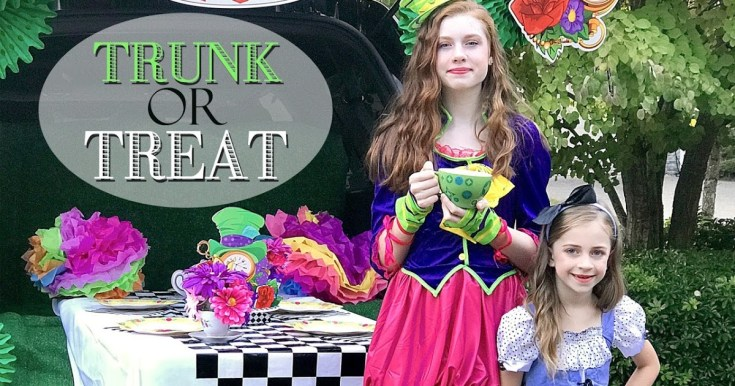 Mad Hatter Tea Party Trunk Or Treat!