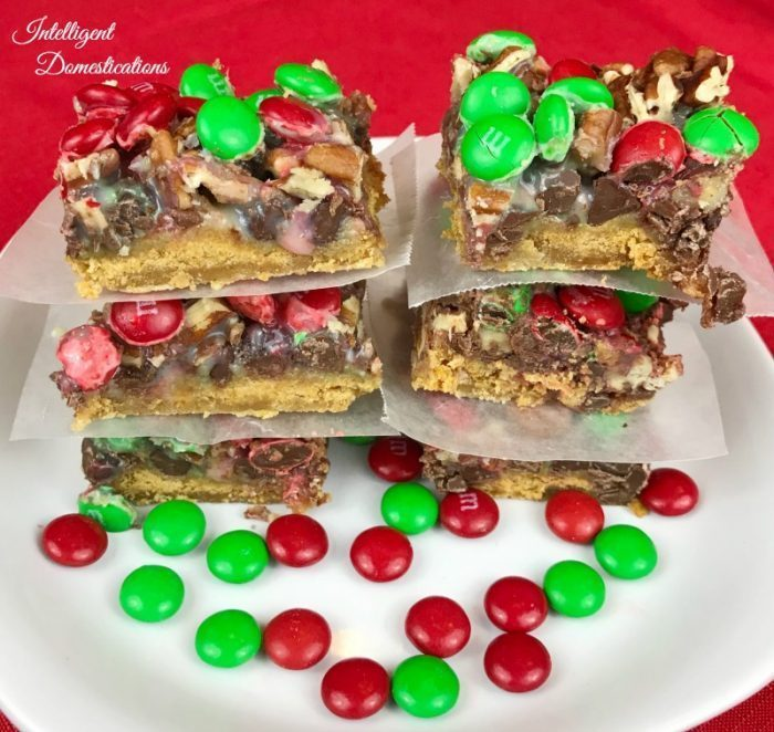 Christmas Magic Cookie Bars recipe