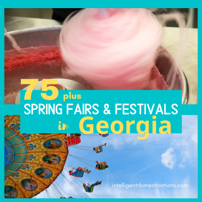 Georgia Spring and Summer Fairs & Festivals