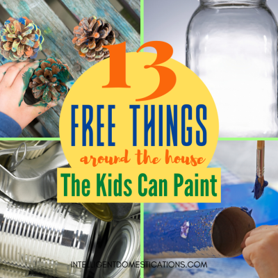 13 Easy Paint Projects For Kids Stuck At Home
