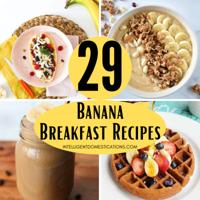 29 Yummy Ways To Use Bananas For Breakfast