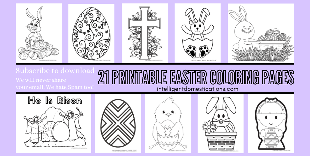 Easter coloring pages Newsletter Subscription form