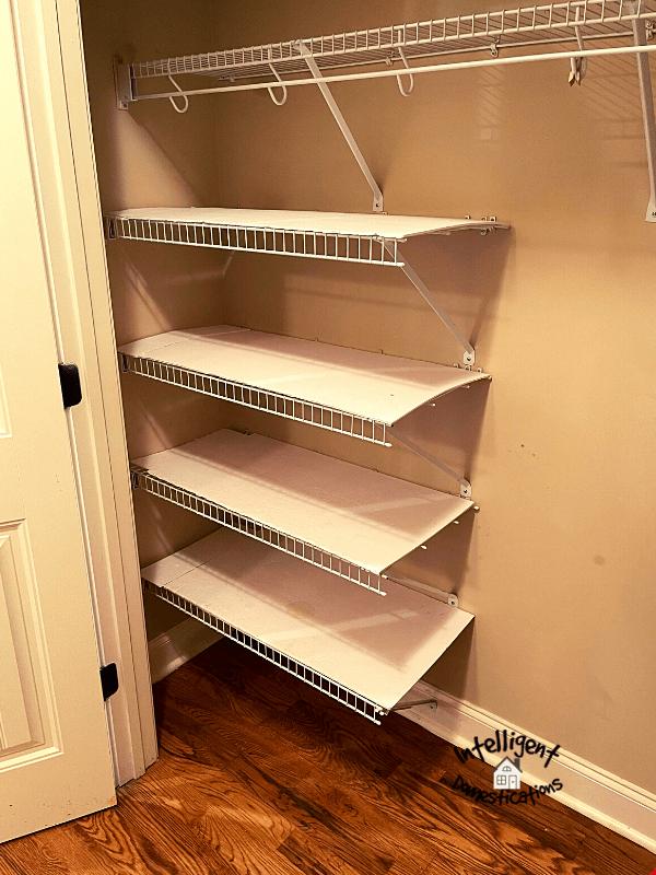 Empty kitchen Pantry closet