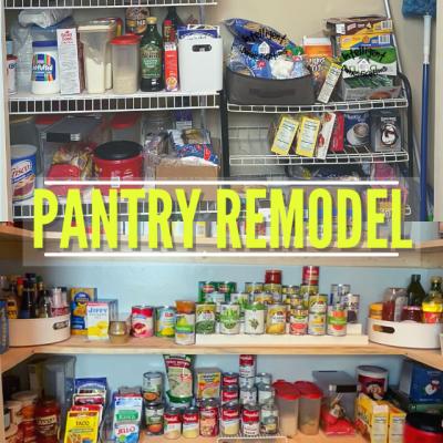 My Big Kitchen Pantry Remodel