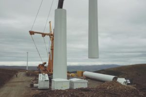 Gamesa Turbine, Hare Hill Wind Farm, Scotland. Photo by Gerard Thompson.