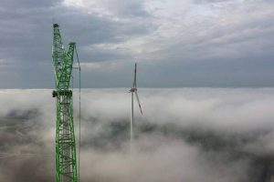 Noel Ruiz Cordero sent this sky high picture for our monthly wind turbine photo competition, taken in Germany 🇩🇪.