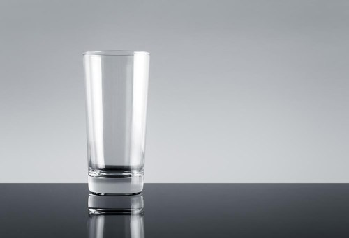 clear glass container