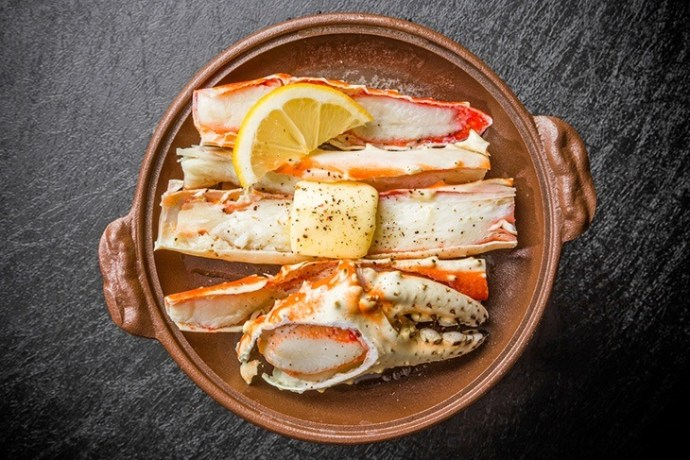 eat crabs