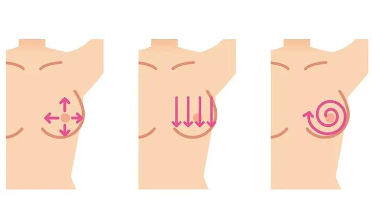 Breast stimulation tips