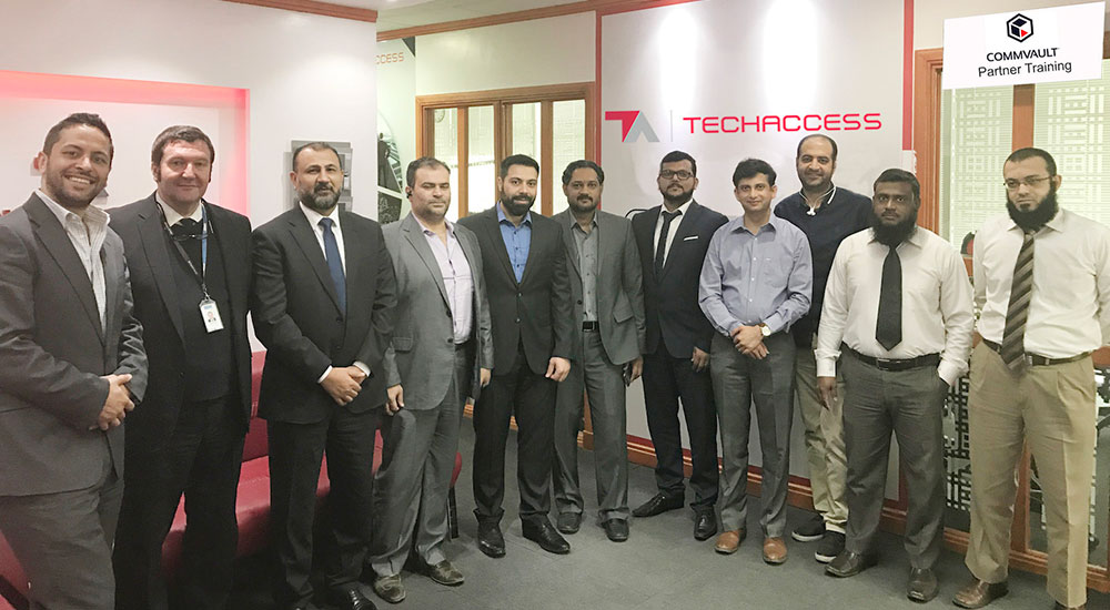 TechAccess hosts training session for Commvault Partners in KSA