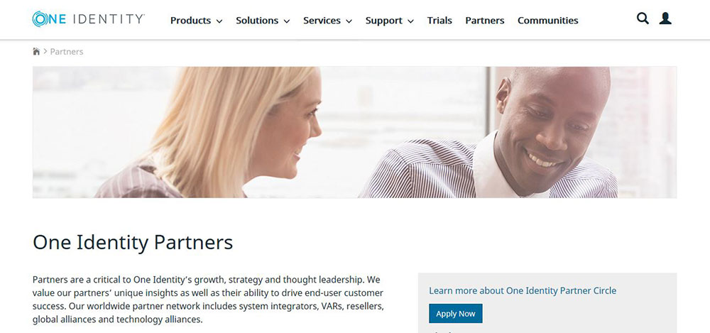 New One Identity Partner Circle launched