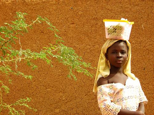Bandiagara girl