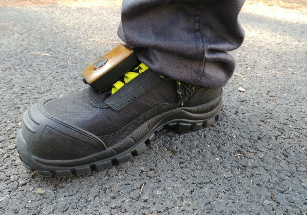 Smart Connected Safety Shoes