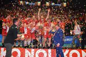 Noliko Maaseik kampioen volleybal 2018 belgië